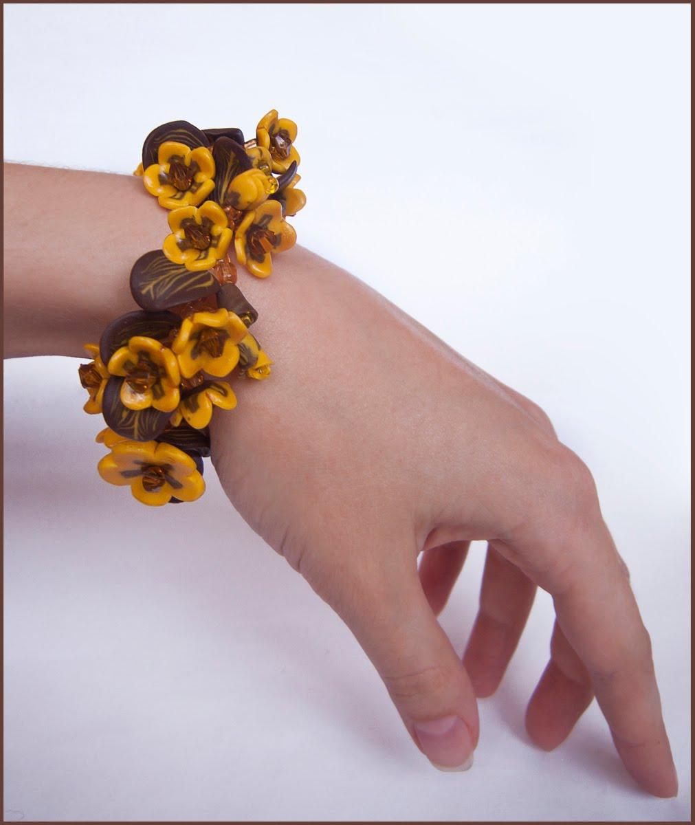 Из полимерной глины цветы солнца